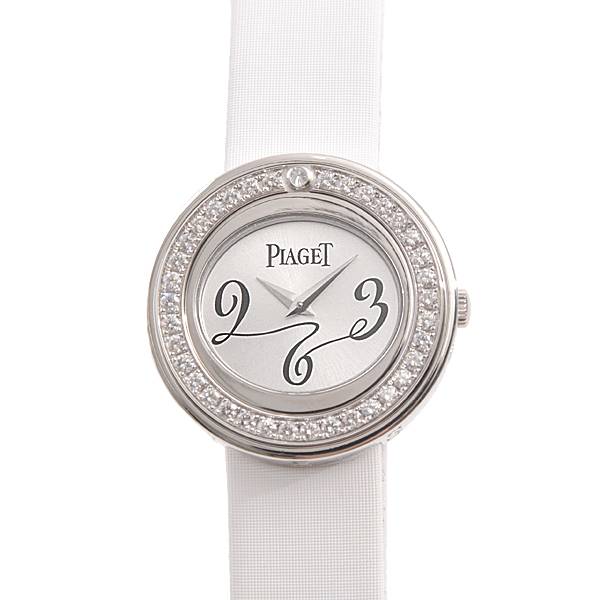 ピアジェ PIAGET G0A30107 ポセション ダイヤモンドベゼル 電池式 レディース 750WG ホワイトゴールド【中古】