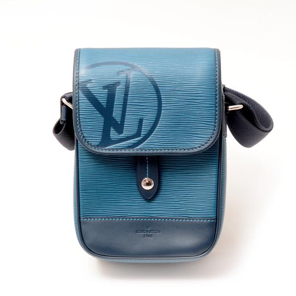 ルイヴィトン Louis Vuitton エピ メッセンジャーダウンタウンBB ショルダーバッグ M53497 中古 ブルーアズール まとめ買い特価 メンズ LVサークル 店内限界値引き中 セルフラッピング無料