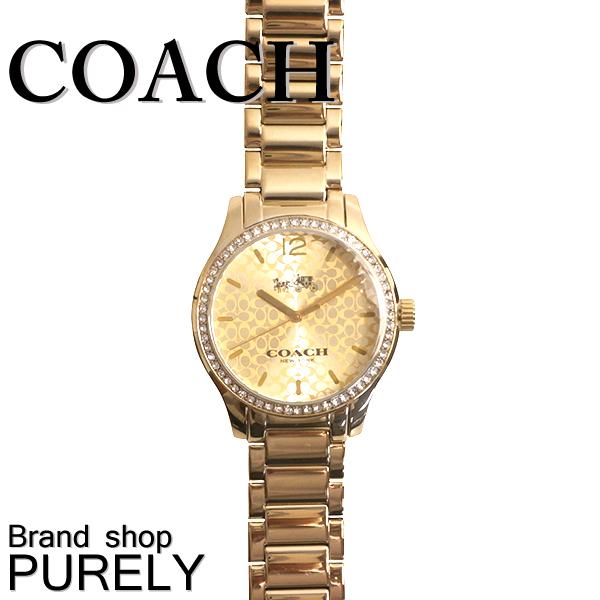 ★全品ポイント2倍★コーチ COACH 小物 腕時計 レディース アウトレット ステンレススティール ウォッチ W6184 GPL ゴールドプレート コーチ COACH レディース WWW