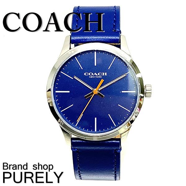 【72時間限定ポイント5倍】コーチ COACH 腕時計 腕時計 メンズ アウトレット ステンレス×レザー×ミネラルガラス ウォッチ バクスター W1582 NAV ネイビー コーチ COACH メンズ MMM