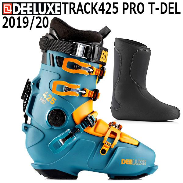 19-20 DEELUXE ディーラックス TRACK425 PRO T-DEL スノーボード アルペン ハードブーツ メンズ レディース フル熱成型インナー 予約商品 2020