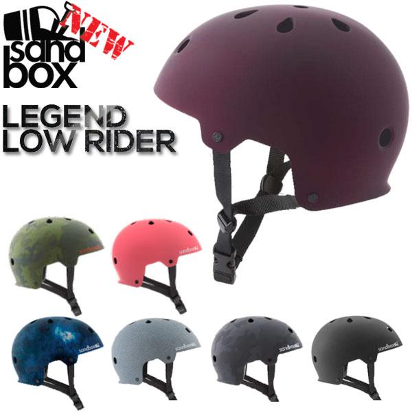 即出荷 SANDBOX / サンドボックスヘルメット LEGEND LOW RIDER ローライダー ウェイク スノーボード スケート スキー メンズ レディース キッズ プロテクター 19-20