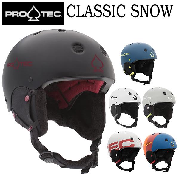 PRO-TEC/プロテックヘルメット CLASSIC SNOW HELMETS クラシックスノー スノーボード スキー メンズ レディース キッズ プロテクター 19-20