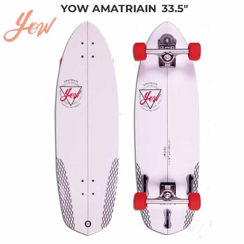YOW/ヤウ SKATE AMATRIAN アマトリアン サーフスケート ロングスケートボード ロングボード スケボー