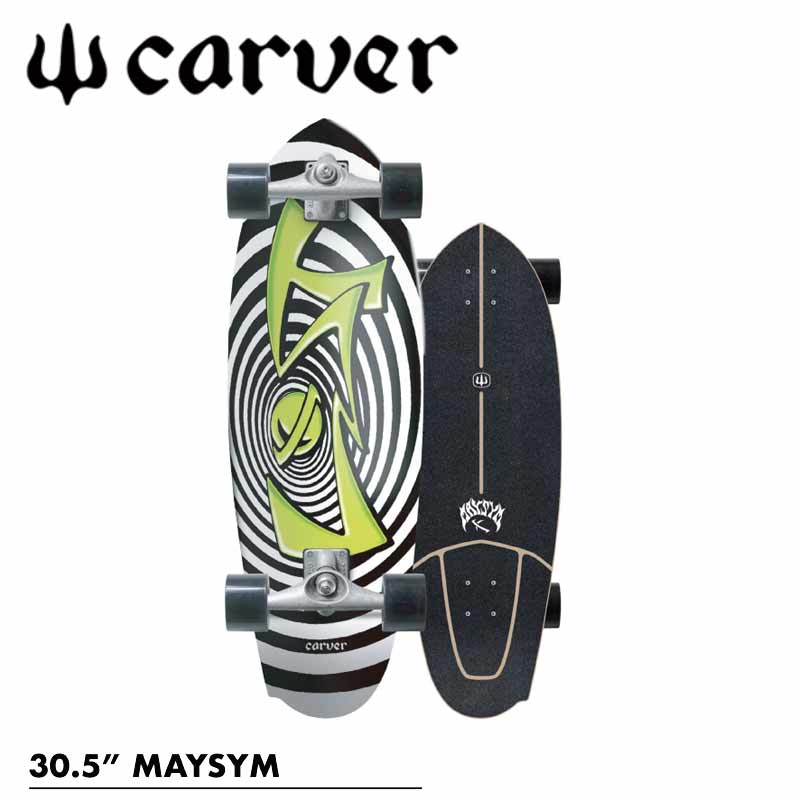 CARVER/カーバーLOST×CARVER MAYSYM 30.5インチ CX4トラック サーフスケート ロンスケ オフトレ MAYHEM 予約商品