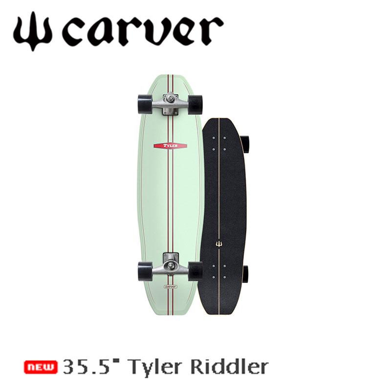全品ポイント2倍! CARVER/カーバー Riddler リドラー 35.5インチ CX4トラック サーフスケート ロングスケートボード ロングボード