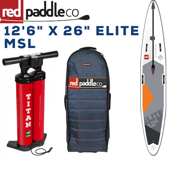 RED PADDLE 12'6