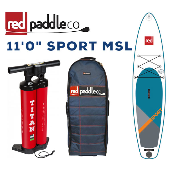 RED PADDLE 11'0