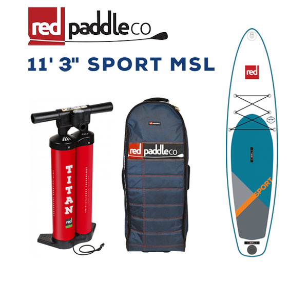 RED PADDLE 11'3