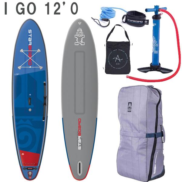 2019 STARBOARD DELUXE iGO 12'0 X 33 X 6 スターボード デラックス SUP インフレータブル パドルボード サップ