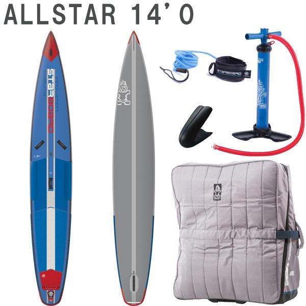 取り寄せ商品 2019 STARBOARD DX AIRLINE ALLSTAR 14'0 X 26 X 6.0 スターボード デラックス SUP インフレータブル パドルボード サップ