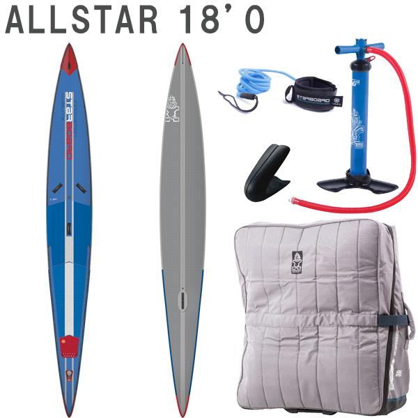 2019 STARBOARD DX AIRLINE ALLSTAR 18'0 X 27 X 6.0 スターボード デラックス SUP インフレータブル パドルボード サップ 取り寄せ商品