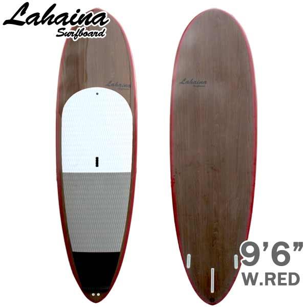 """ラハイナ 9'6""""L35 WINE RED/WOOD"""