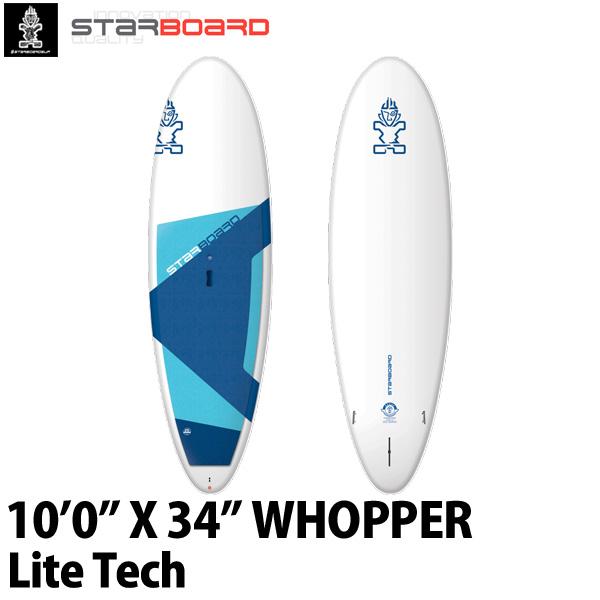 取り寄せ商品 2019 STARBOARD SUP 10'0X34 WHOPPER LITE TECH スターボード ワッパー サップ スタンドアップパドルボード 営業所止め