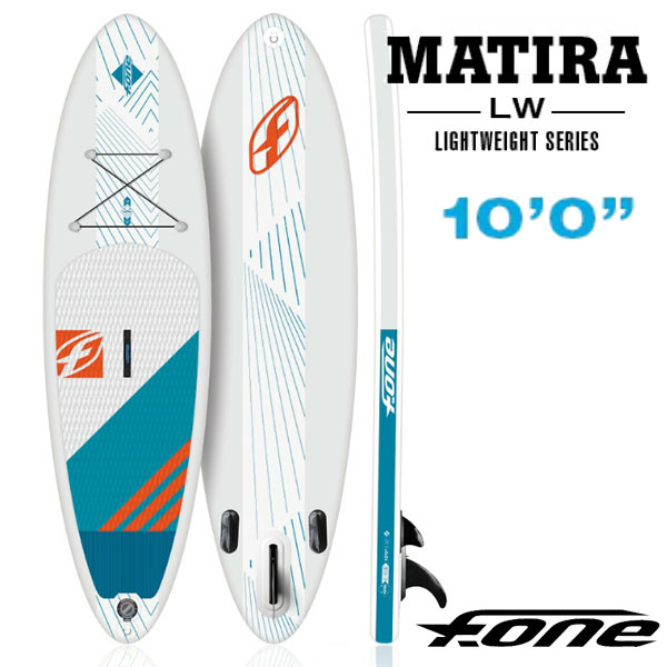 Stand up paddle Board SUP F-ONE / cars MATIRA 10 ' 0 lightweight inflatable