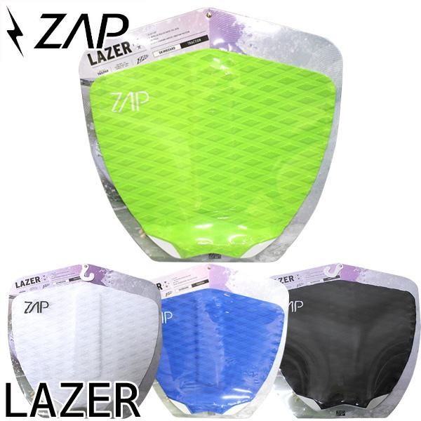 人気商品 サーフィンにも トラスト 即出荷 デッキパット ZAP LAZER 高級な ザップ サーフィン スキムボード テールパッド