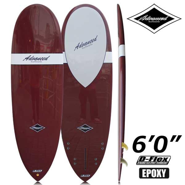 サーフボード ミニロング サーフィン アドバンス / ADVANCED 6'0 EPS A24a 営業所止め 送料無料