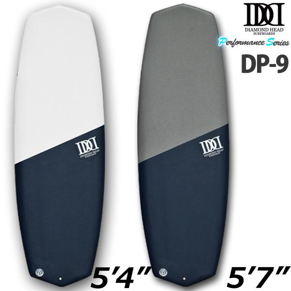 ソフトボード ダイアモンドヘッド サーフボード マジックデッキ ショートボード ミニボード DP9 サーフィン 営業所止め 送料無料
