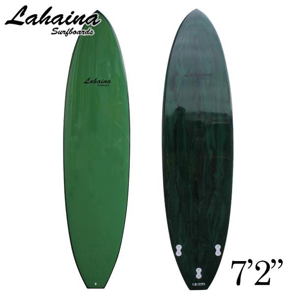 サーフボード ラハイナ / LAHAINA 7'2 ファンボード グリーンマーブル 初心者から中上級者まで 営業所止め 送料無料