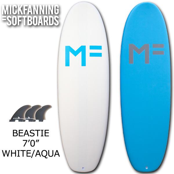 MICKFANNING SOFTBOARDS ミックファニングソフトボード BEASTIE ビースティ 7'0 サーフボード 営業所止め 送料無料 サーフィン