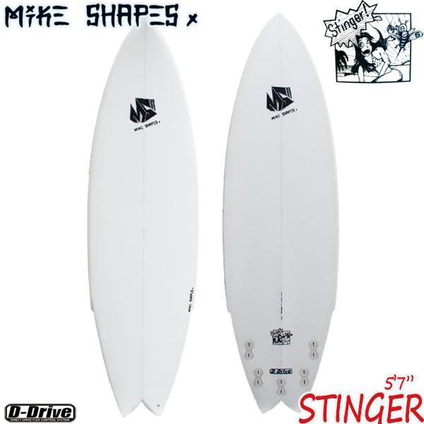 サーフボード マイクシェイプス / MIKE SHAPES STINGER 5'7 ショートボード ミニボード