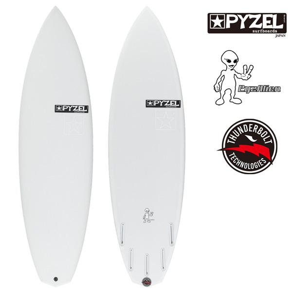 パイゼル サーフボード パイゼリアン / PYZEL PYZALIEN XEON ショートボード サンダーボルト サーフィン ジオンファイバー 5'9