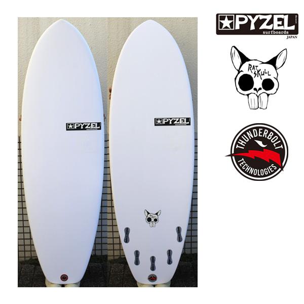 パイゼル サーフボード ラットスカル / PYZEL RATSKULL XEON ショートボード サンダーボルト サーフィン ジオンファイバー 5'4 5'6 営業所止め 送料無料
