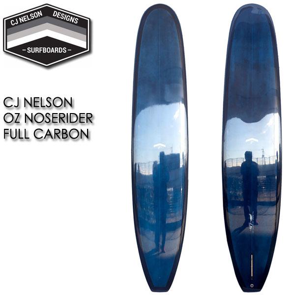 CJ NELSON OZ NOSERIDER 9'6 FULLCARBON/フルカーボン サンダーボルト トンビ製 ロングボード サーフボード 営業所止め 送料無料 サーフィン