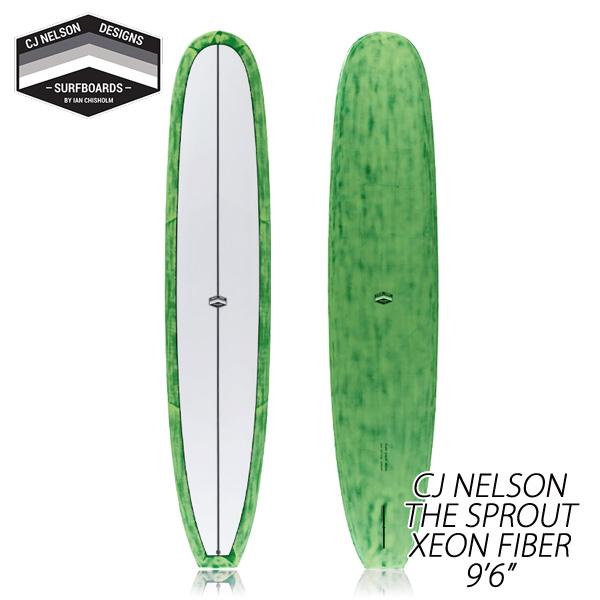 CJ NELSON THE SPROUT 9'6 XEON FIBER/ジオンファイバー サンダーボルト トンビ製 ロングボード サーフボード 営業所止め 送料無料 サーフィン
