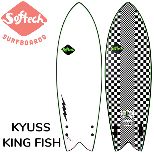 SOFTECH KYUSS KING ROCKET FISH 5'8