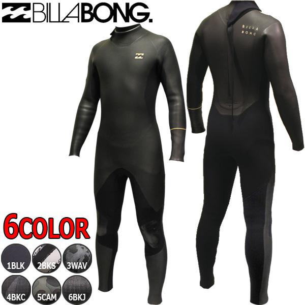18-19 BILLABONG / ビラボン BACK ZIPPER / バックジッパー 5×3 AI018-622 セミドライウェットスーツ サーフィン フルスーツ