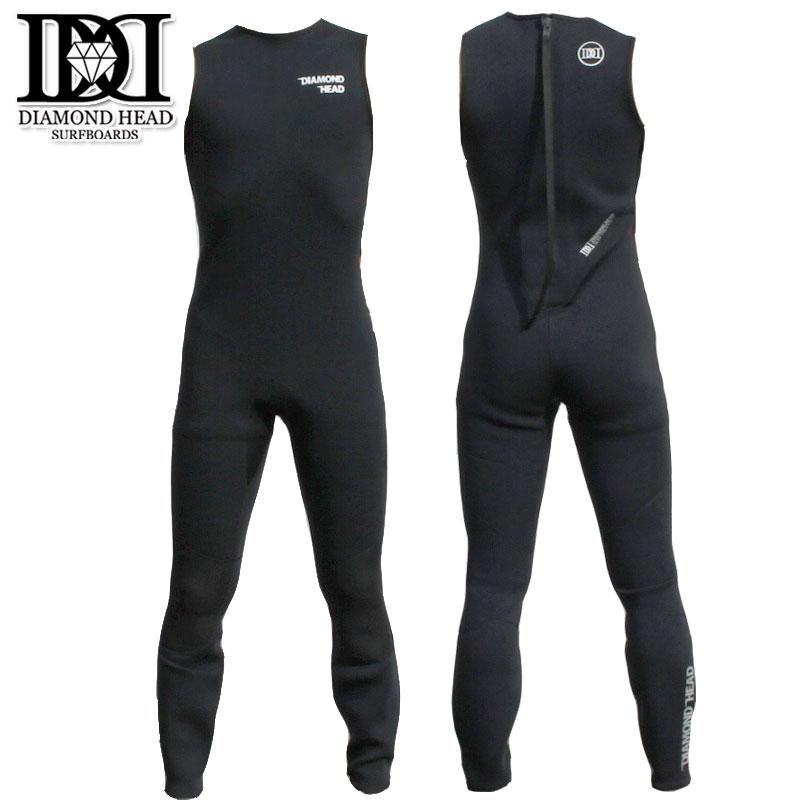 ダイアモンドヘッド ウェットスーツ 2mmロングジョン すくい縫い加工 DIAMONDHEAD 春夏用 メンズウェットスーツ サーフィン