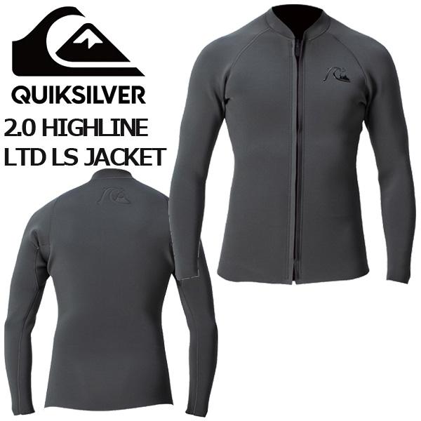 2020 QUIKSILVER クイックシルバー ウェットスーツ タッパー 2.0 HIGHLINE LTD LS JACKET QWT201903 サーフィン