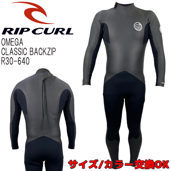 RIP CURL / CLASSIC BACK ZIP / セミドライ 5×3