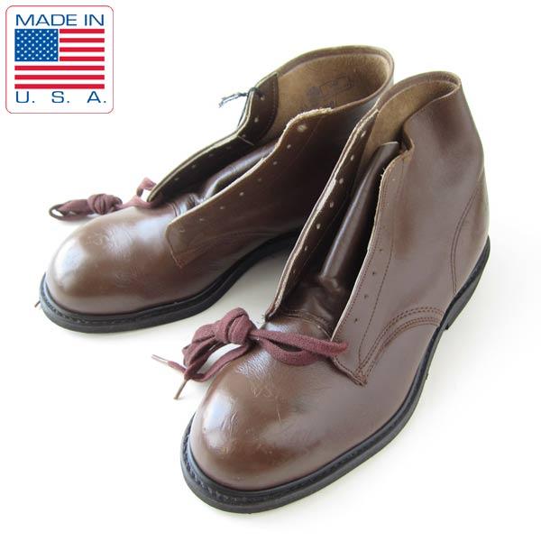 <title>USA製 USA刻印 HY-TEST ワークブーツ レディース24.5cm オーバーのアイテム取扱☆ 靴 サービスシューズ デッドストック 新品 ビンテージ D19</title>