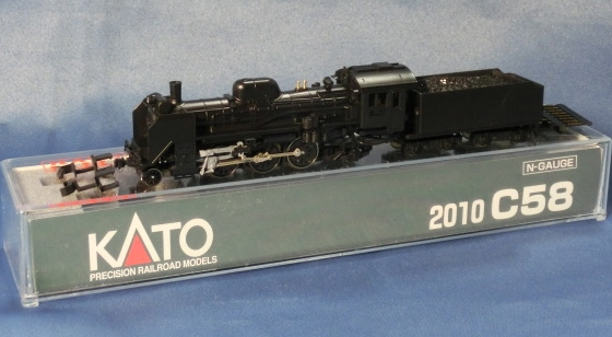 KATO 2010 C58 蒸気機関車Nゲージ 鉄道模型 カトー [新品]