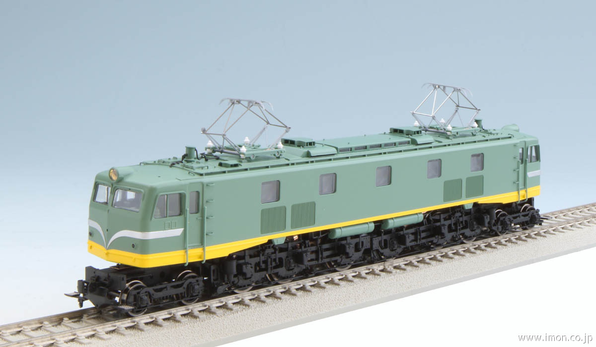 EF58 青大将 グリーン 機関車プラ製 トラムウエイ HO鉄道模型【新品】