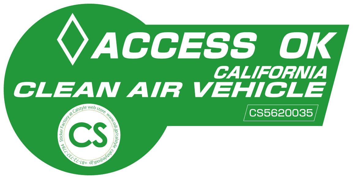 California Hov Stickers >> Calstyle: Ecocarparody California Clean Air Vehicle ...