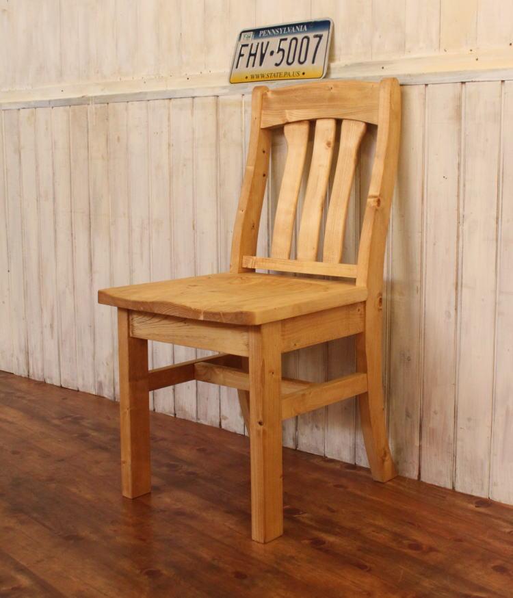 イス カントリー チェアー 日本製 完成品 1人掛け 1人用 コンパクト ダイニング チェア 椅子 オーダー家具 オーダーメイド 手作り パイン材 北欧 無垢 木製 おしゃれ いす 白 アンティーク レトロ アメリカン 西海岸 西海岸風 インテリア ナチュラル カントリー家具