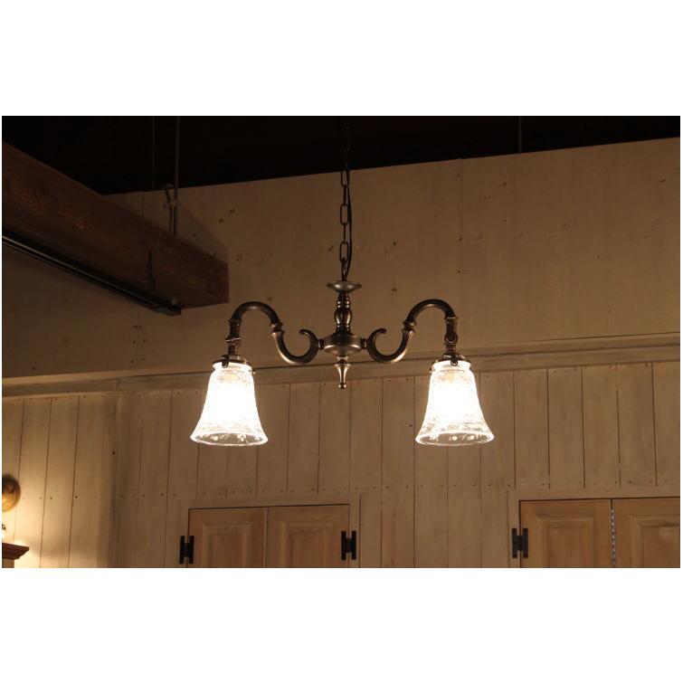 600 2A265 2灯 シャンデリア 照明 2畳用 ペンダントランプ ペンダントライト シーリングライト 天井照明 簡単取付 引っ掛けシーリング対応 おしゃれ アンティーク アンティーク調 ントリー調 モダン クラシック シンプル リビング 玄関 寝室 リフォーム 新築 LED電球