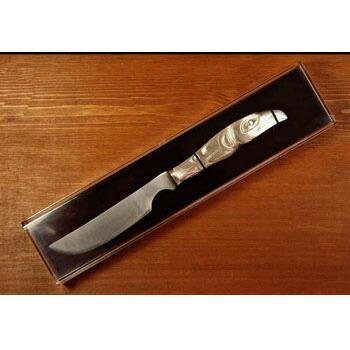カナダ 先住民 ネイティブ インディアン BOMA製 [ KNIFE CHEESE ] ネイティブ インディアン チーズナイフ