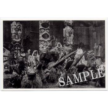 額に入れて 定番の人気シリーズPOINT ポイント 入荷 飾って インテリア に ネイティブ ポストカード 写真 カナダ 雑貨 先住民 100%品質保証! インディアン INITIATION OF THE HAMATSA