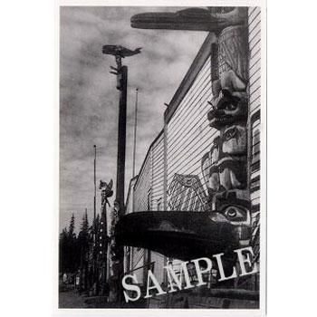 送料無料新品 額に入れて 飾って インテリア に ネイティブ ポストカード 写真 カナダ VILLAGE BAY 雑貨 NIMKISH 年末年始大決算 AT 先住民 ALERT インディアン