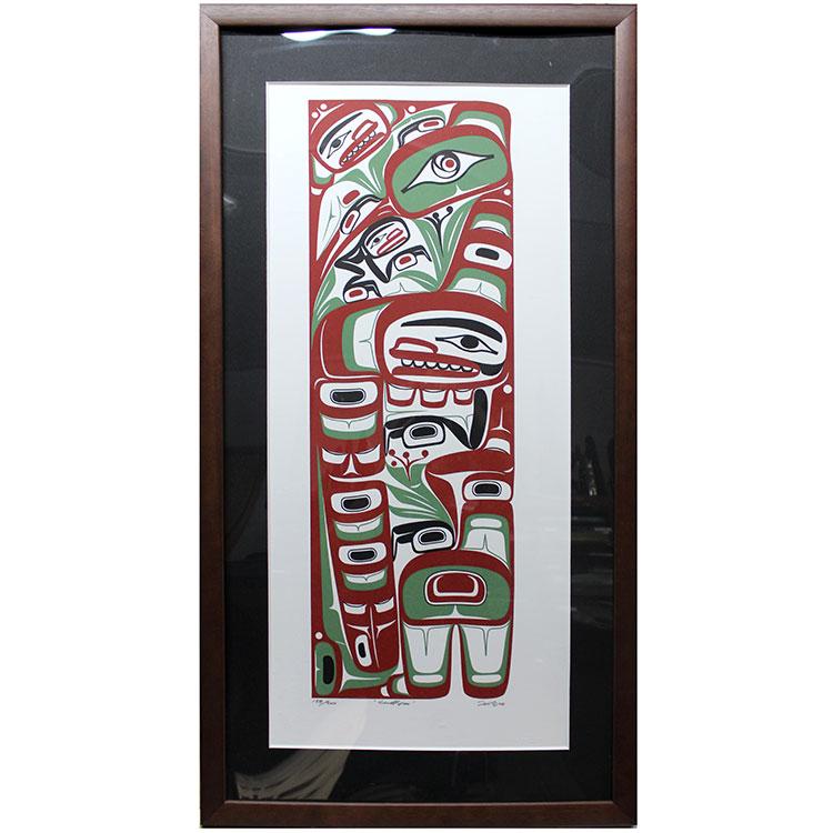 アート シルクスクリーン 画 [ カナダ SANDPAPER 先住民 ネイティブ インディアン 限定エディション 138 138/200/200 [ SANDPAPER ] 送料無料, mother:91028752 --- sunward.msk.ru