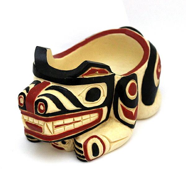 トーテムボウル TOTEM BOWL 熊 クマ カナダ 先住民 インディアン [ BEAR ]