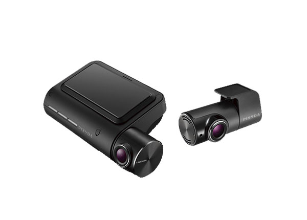 PIXYDAセイワPDR800FR前後フルHD録画2カメラドライブレコーダーGPS内蔵WIFI搭載
