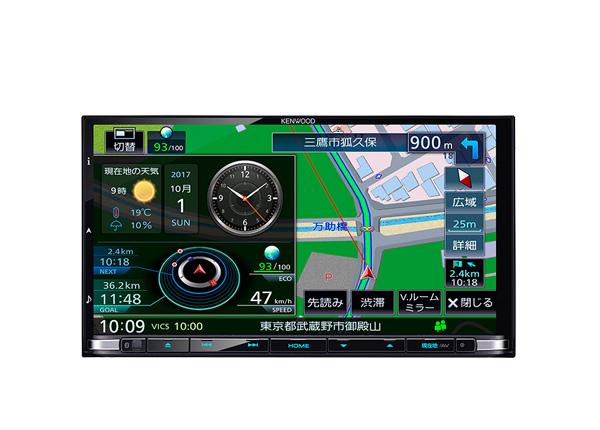 【キャッシュレス決済5%還元!対象店】ケンウッドKENWOODハイレゾ対応DVD/Bluetooth地デジ彩速ナビMDV-Z905地図更新1年間無料