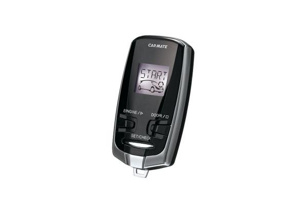 【キャッシュレス決済5%還元!対象店】カーメイトCARMATEアンサーバック液晶リモコンエンジンスターターTE-W7300(車内温度センサー標準搭載)
