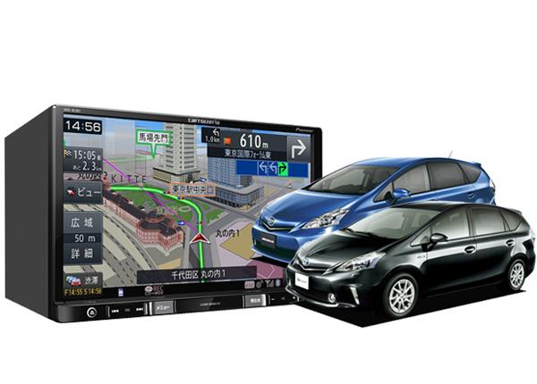 流行に  carrozzeriacarrozzeria AVIC-RL901+KLS-Y802Dプリウスα/メビウス(MC前)専用取付キットセット, 中山人形店:c5069d12 --- kuoying.net