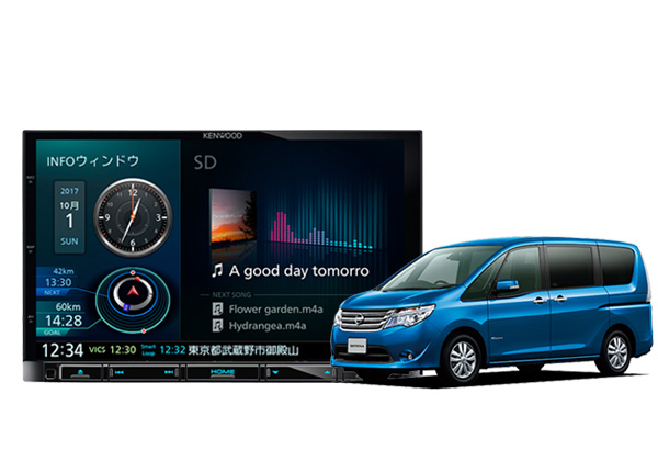 ●日本正規品● ケンウッド8型彩速ナビMDV-M805L+C26セレナ(H22/11?H28/8)用取付キットKIT8-14SEセット, ひのきの香り届けます:ddb4afc4 --- lazypandafilms.com